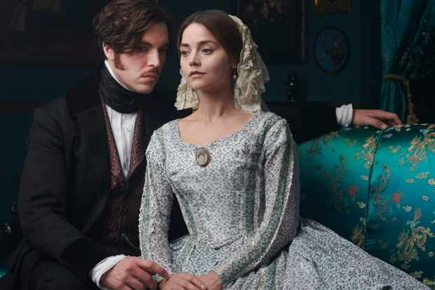 Victoria series 3 Albert (Tom Hughes) and Victoria (Jenna Coleman)