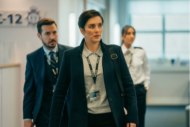 WARNING: Embargoed for publication until 00:00:01 on 02/04/2019 - Programme Name: Line of Duty - Series 5 - TX: n/a - Episode: Line of Duty S5 - Episode 2 (No. 2) - Picture Shows: ***EMBARGOED TILL 00:01 2ND APRIL 2019*** Steve (MARTIN COMPSTON), Kate (VICKY MCCLURE), Tatleen (TAJ ATWAL) - (C) World Productions - Photographer: Aiden Monaghan
