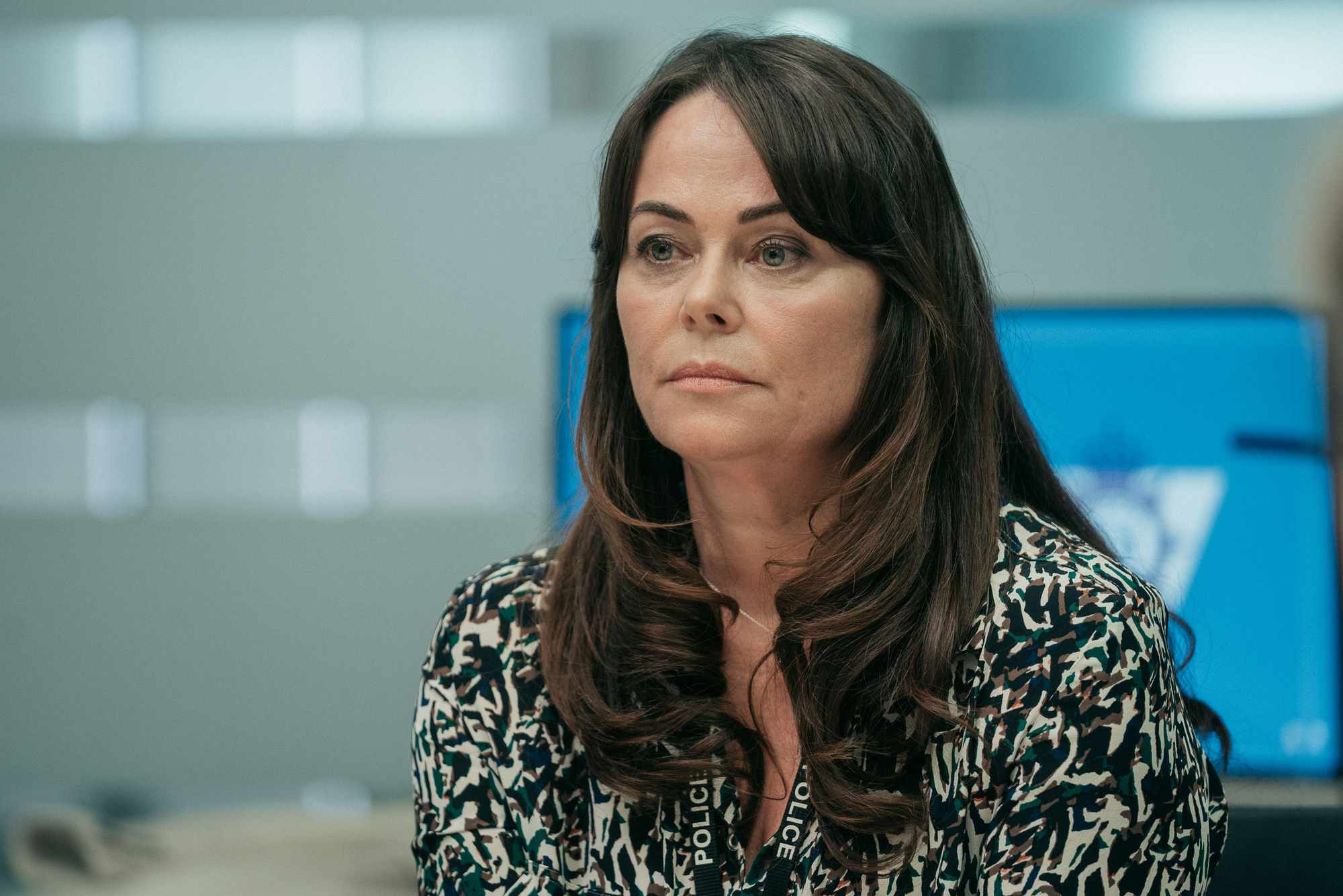 WARNING: Embargoed for publication until 00:00:01 on 02/04/2019 - Programme Name: Line of Duty - Series 5 - TX: n/a - Episode: Line of Duty S5 - Episode 2 (No. 2) - Picture Shows: ***EMBARGOED TILL 00:01 2ND APRIL 2019*** Gill (POLLY WALKER) - (C) World Productions Ltd - Photographer: Adian Monhagan