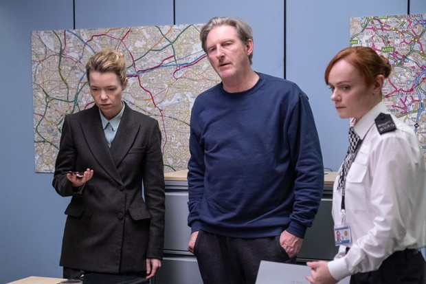 Anna Maxwell Martin as Carmichael in Line of Duty (BBC Pictures)