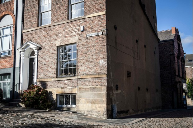 The house at Ravensworth Terrace in Newcastle where A House Through Time is filmed (BBC)