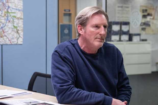 Ted Hastings (Adrian Dunbar) in the series six finale of Line of Duty (BBC/World Productions Ltd)