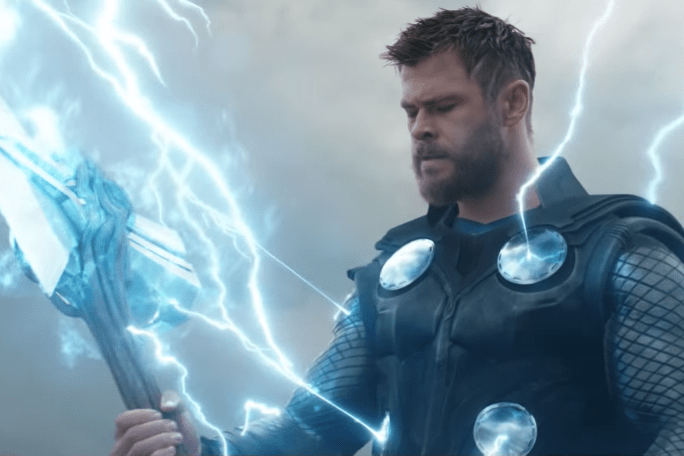 Chris Hemsworth as Thor in Avengers: Endgame (Marvel)
