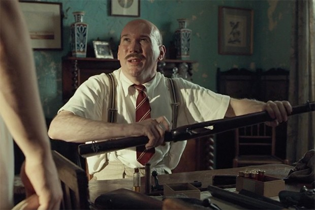 Alex Macqueen plays Colonel Ribbindane in The Durrells