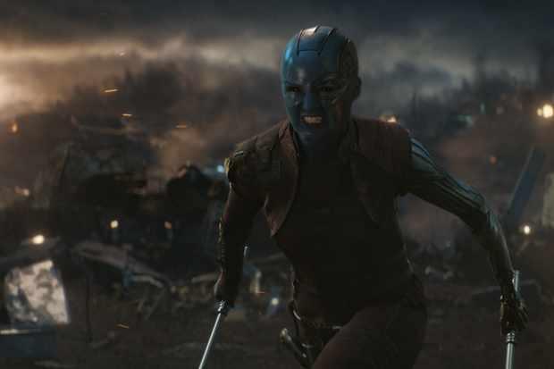Marvel Studios' AVENGERS: ENDGAME..Nebula (Karen Gillan)..Photo: Film Frame..©Marvel Studios 2019