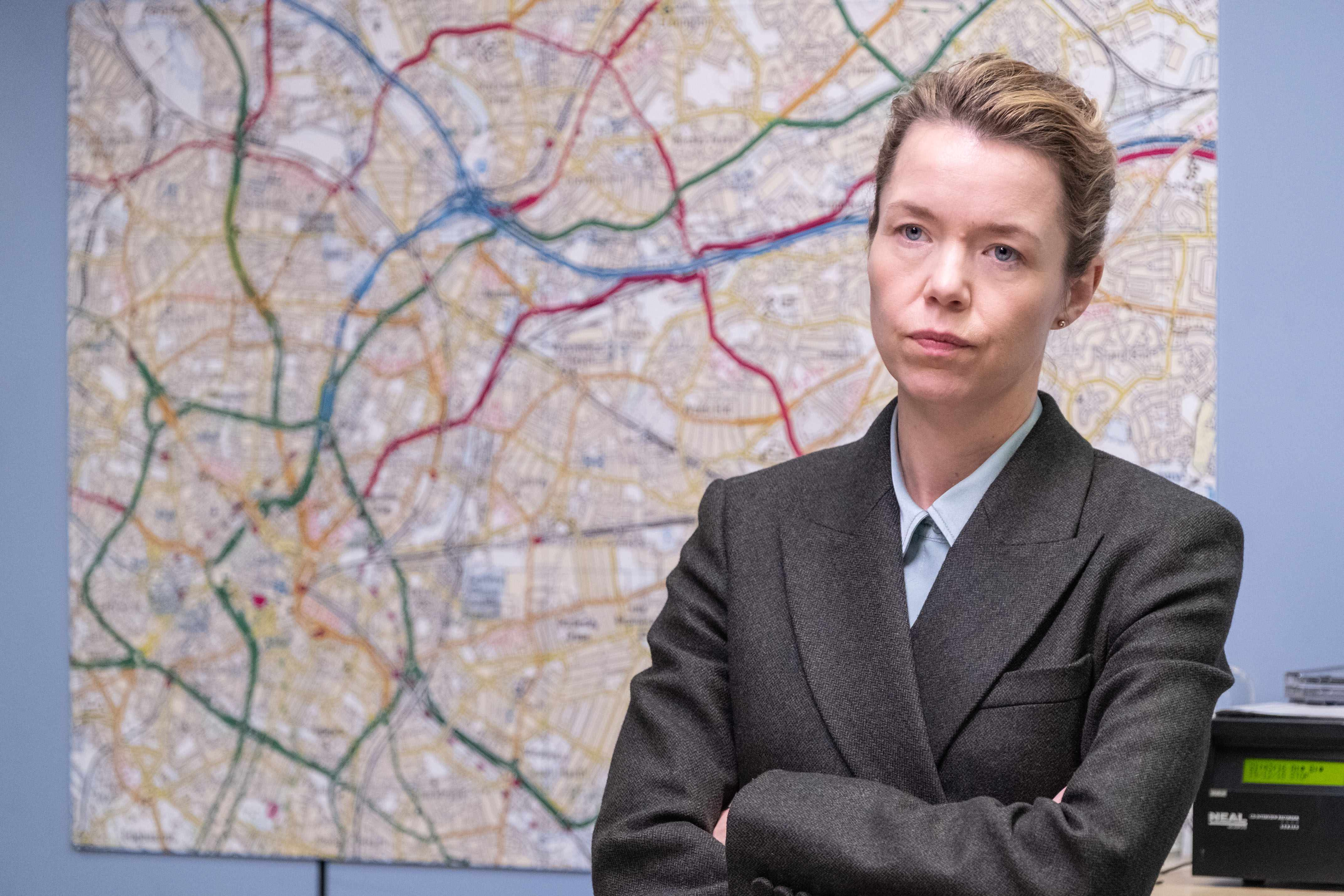 Anna Maxwell Martin plays Patricia Carmichael in Line of Duty