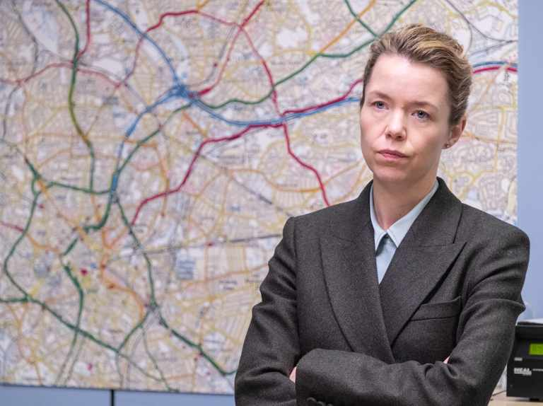 """Who is H? """"It could be me!"""" says Line of Duty's new star Anna Maxwell Martin"""