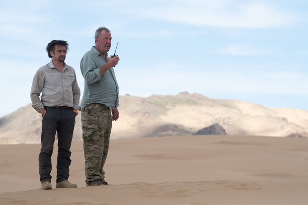 Richard Hammond and Jeremy Clarkson in The Grand Tour Mongolia special (Amazon)