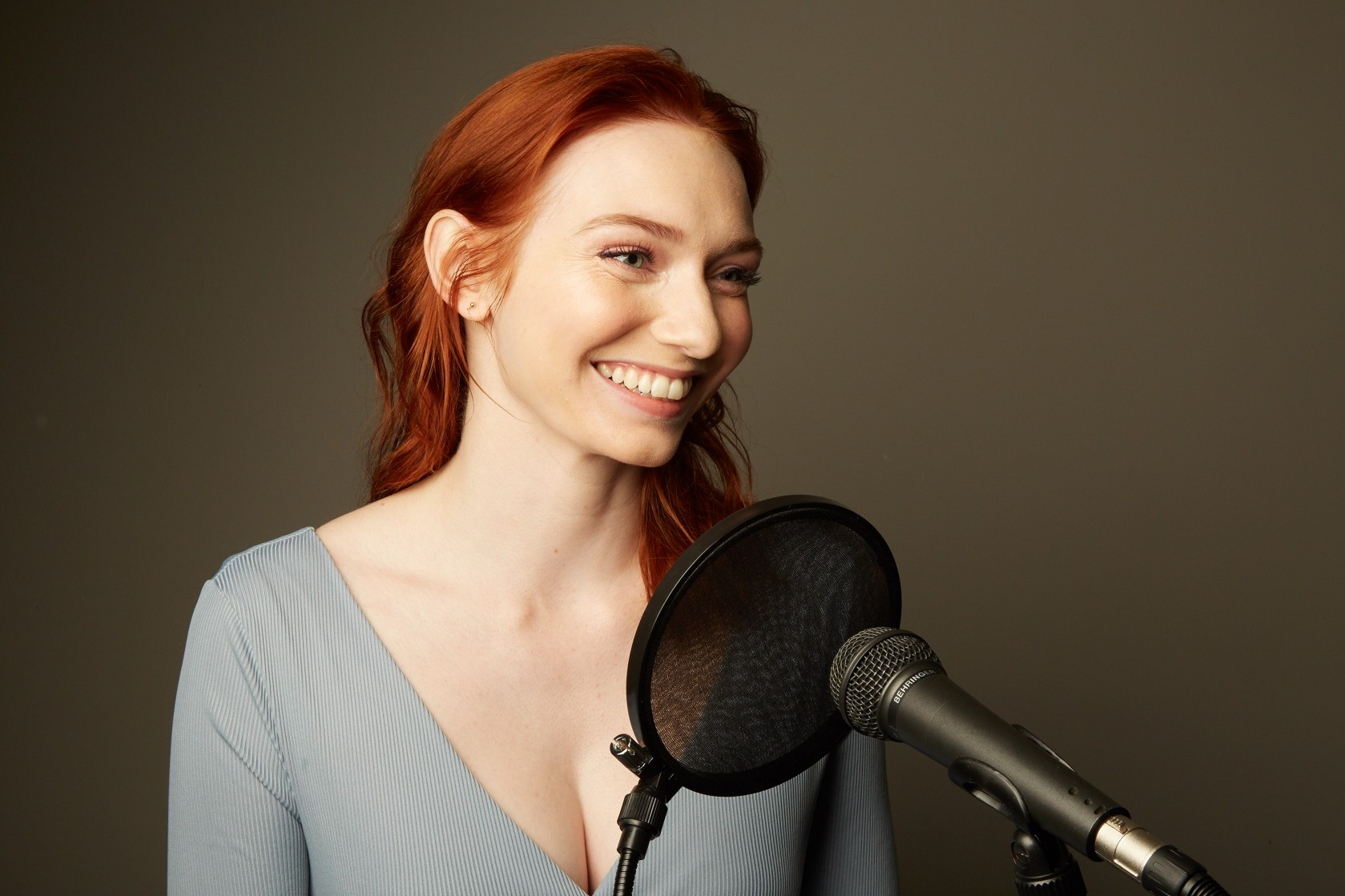 Eleanor Tomlinson has stepped into the studio to record the likes of One Day in December