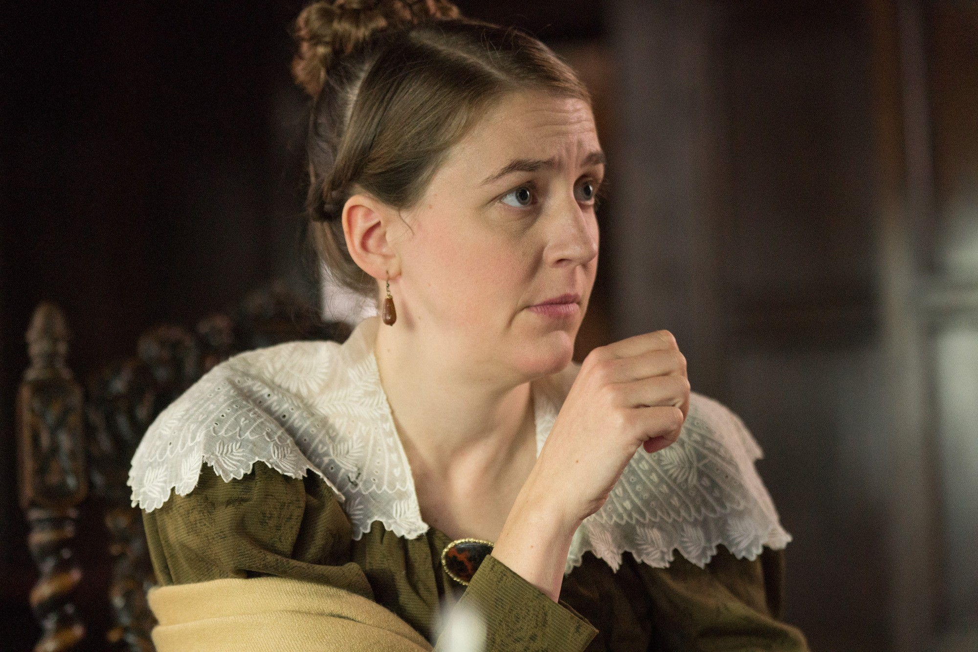 Gemma Whelan as Marian Lister in Gentleman Jack