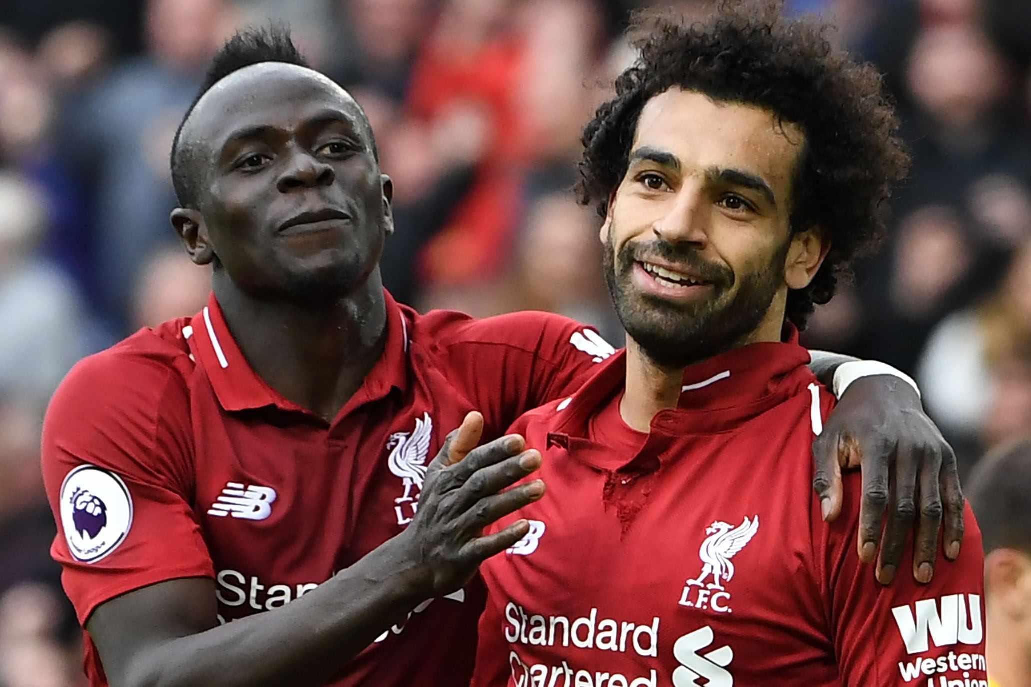 Liverpool Sadio Mane Mohamed Salah