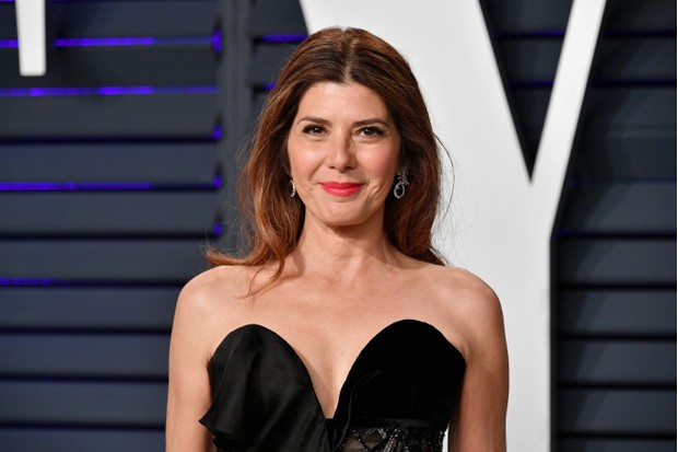 BEVERLY HILLS, CA - FEBRUARY 24: Marisa Tomei attends the 2019 Vanity Fair Oscar Party hosted by Radhika Jones at Wallis Annenberg Center for the Performing Arts on February 24, 2019 in Beverly Hills, California. (Photo by Dia Dipasupil/Getty Images)