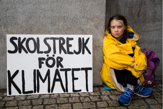 Swedish student Greta Thunberg was just 15 when she led a school strike for climate protest in Sweden last year (Getty)