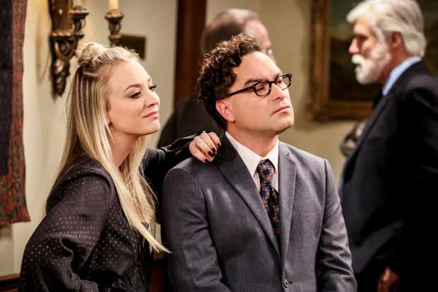 Kaley Cuoco, Johnny Galecki (Getty)