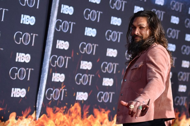 Jason Momoa Game of Thrones series 8 premiere (Getty)