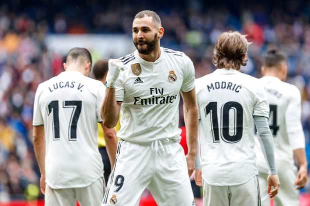 Real Madrid Karim Benzema