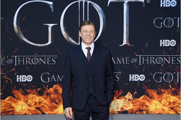Sean Bean, Game of Thrones series 8 premiere (Getty)