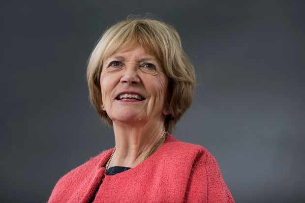 EDINBURGH, SCOTLAND - AUGUST 21:  Joan Bakewell attends the Edinburgh International Book Festival on August 21, 2016 in Edinburgh, Scotland.  The Edinburgh International Book Festival is one of the most important annual literary events, and takes place in the city which became a UNESCO City of Literature in 2004.  (Photo by Awakening/Getty Images)