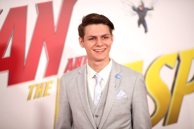 "LOS ANGELES, CA - JUNE 25: Ty Simpkins attends the premiere of Disney And Marvel's ""Ant-Man And The Wasp"" on June 25, 2018 in Los Angeles, California. (Photo by Christopher Polk/Getty Images)"