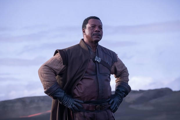 Greef (Carl Weathers) in The Mandalorian Star Wars TV series (Disney)