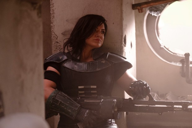 Cara Dune (Gina Carano) in The Mandalorian (Disney)