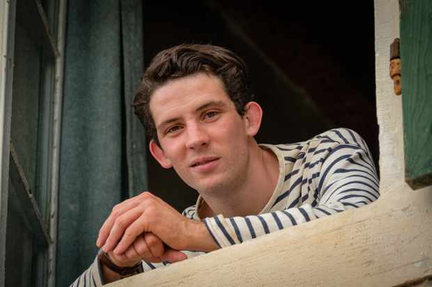 Josh O'Connor plays Larry Durrell in The Durrells