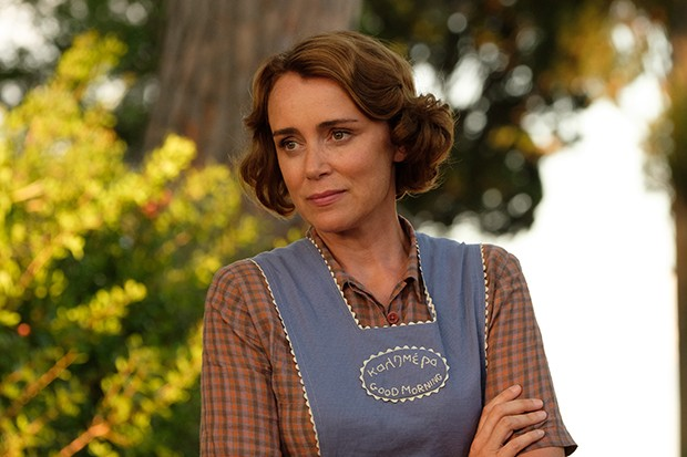 Keeley Hawes plays Louisa Durrell in The Durrells