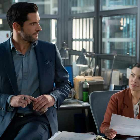 Tom Ellis in Lucifer season 4 first look (Netflix)