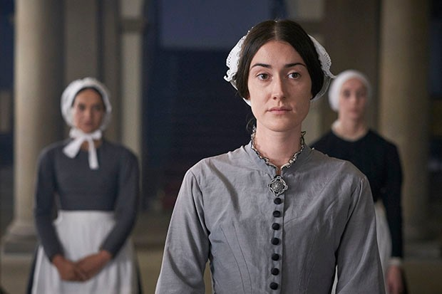 Laura Morgan plays Florence Nightingale in Victoria