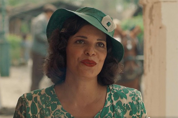 Marina Aslanoglou plays Spiro's wife Dimitra in The Durrells