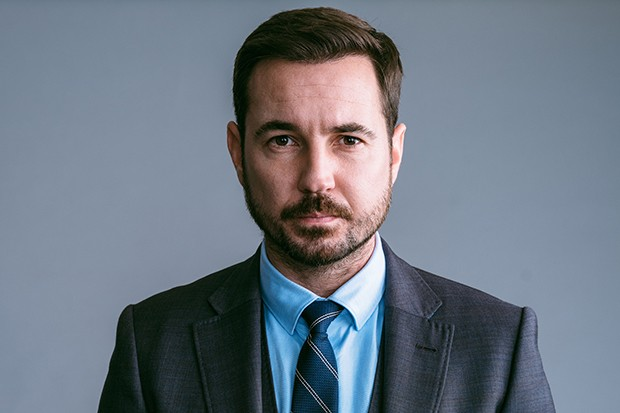 Martin Compston plays DS Steve Arnott in Line of Duty