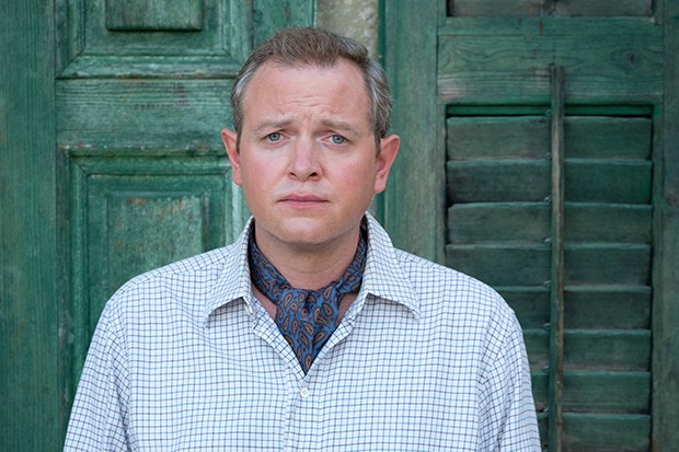 Miles Jupp plays Basil in The Durrells