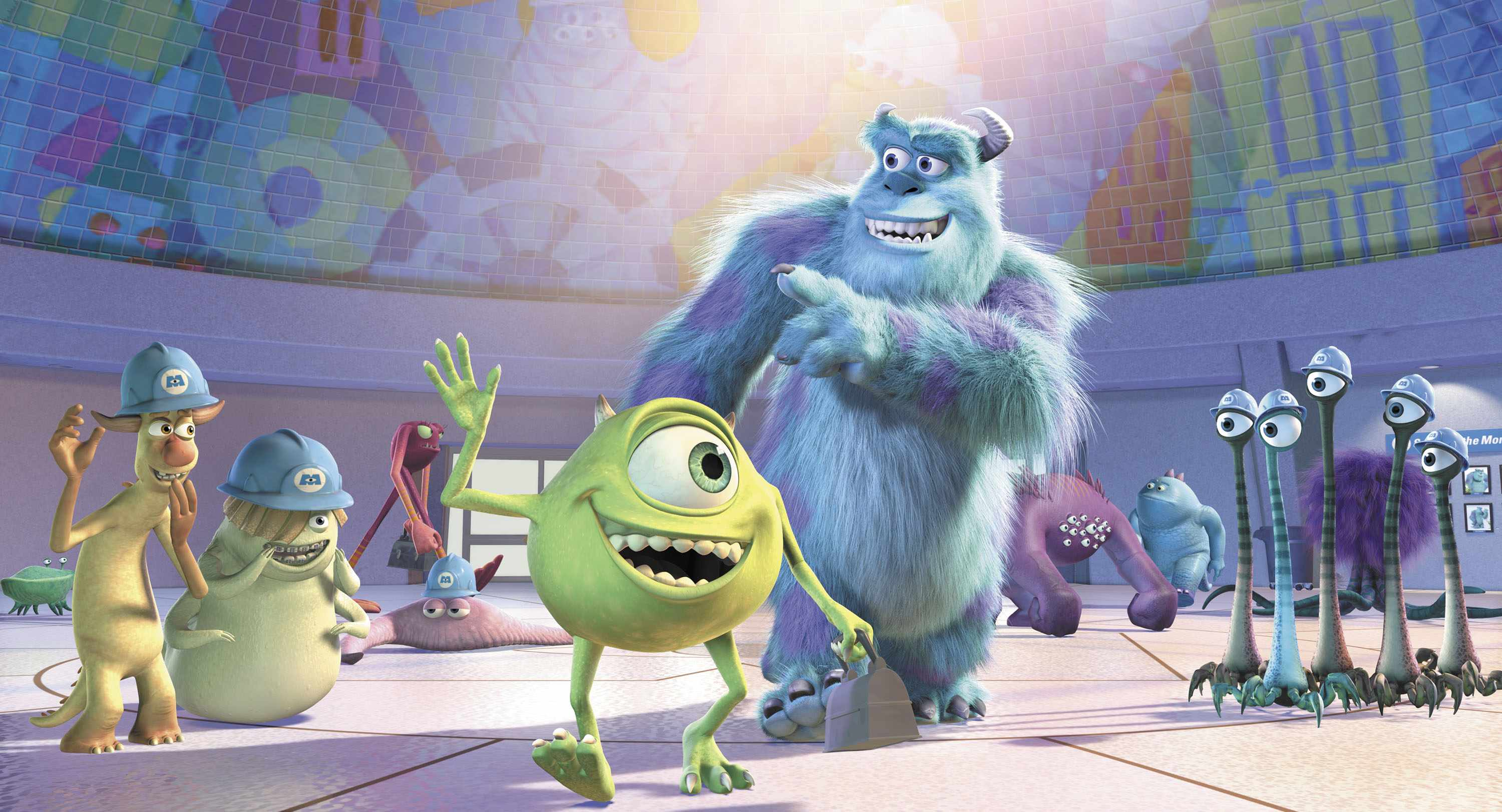 Mike, Sulley, Monsters. Inc (Sky/Disney/Pixar)