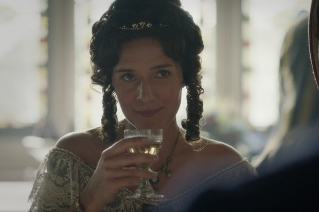 Pandora Clifford plays Lord Palmerston's wife Emily in Victoria