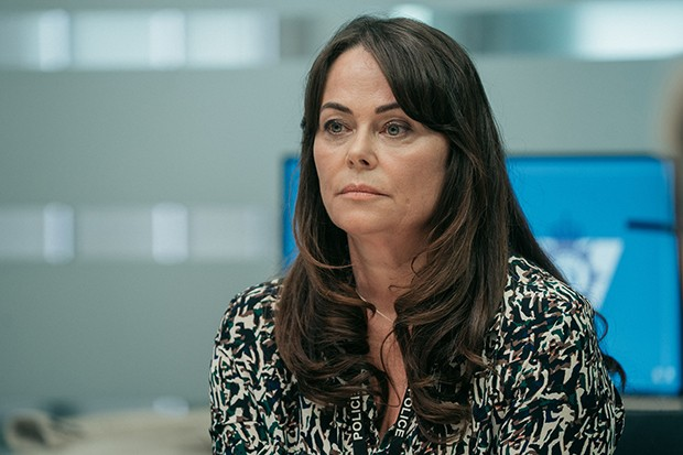 Polly Walker plays Gill Biggeloe in Line of Duty
