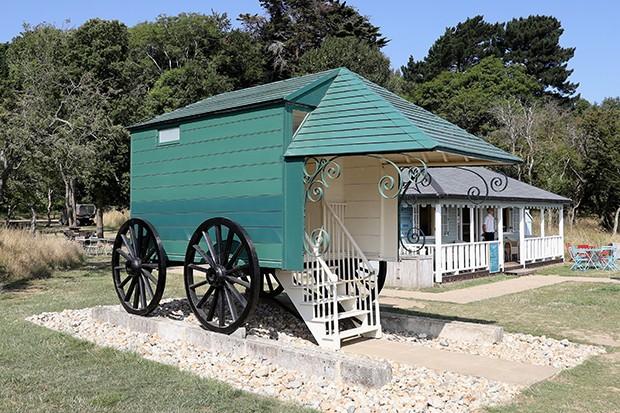 Queen Victoria's original bathing machine.jpg