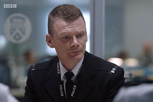 Richard Sutton plays PC Bloom in Line of Duty
