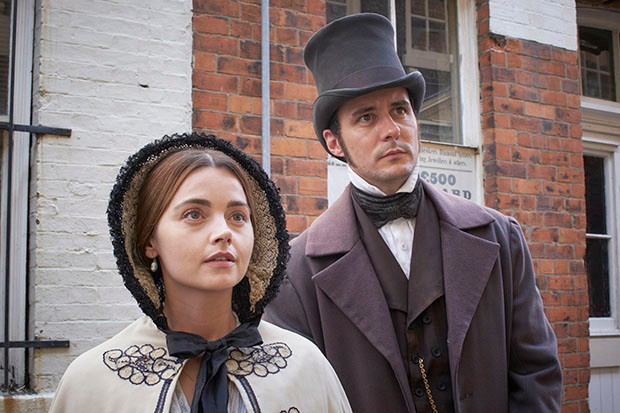Sam Swainsbury plays Doctor Snow in Victoria