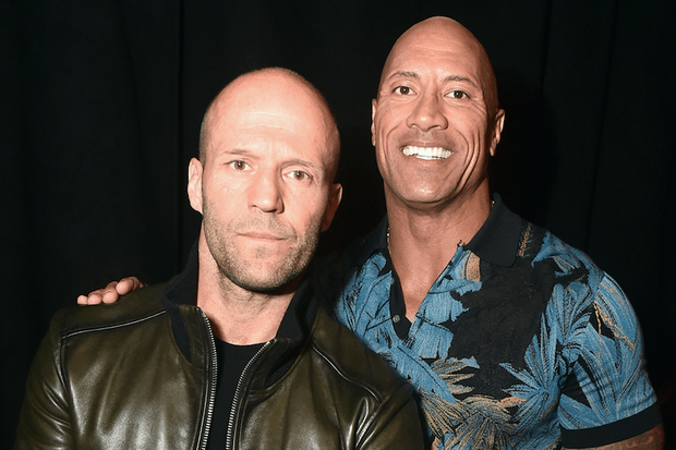 Jason Statham, Dwayne Johnson (Getty)