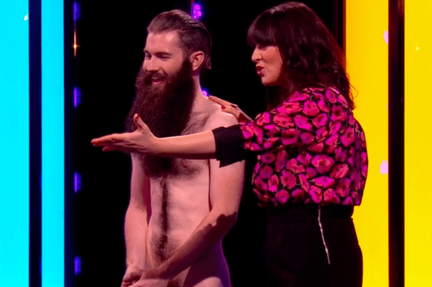 Jimmy Ladgrove, Naked Attraction (screenshot)