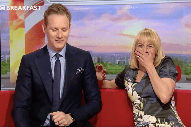 Dan Walker Louise Minchin BBC Breakfast (BBC Screenshot)