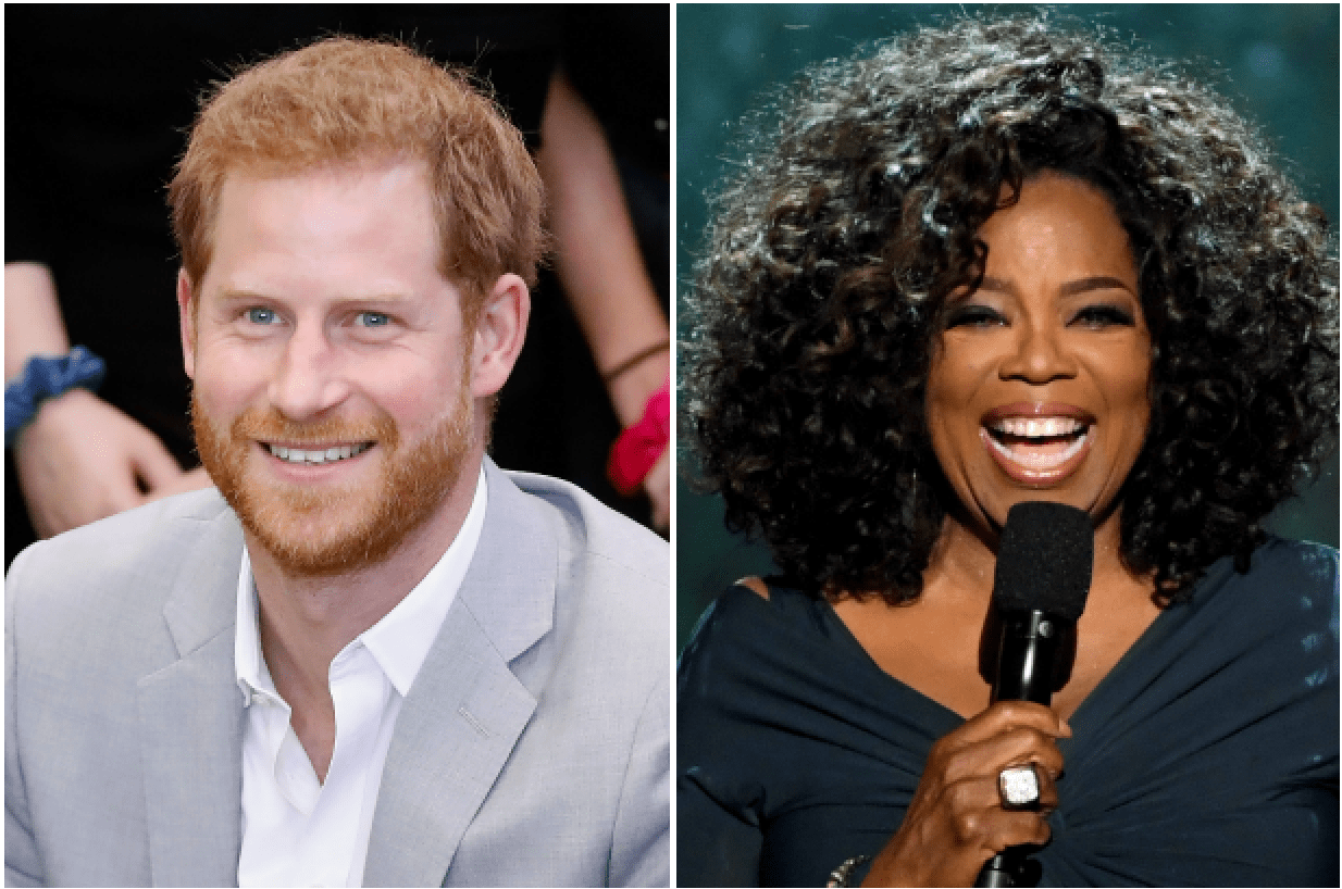 Prince Harry, Oprah Winfrey (Getty)