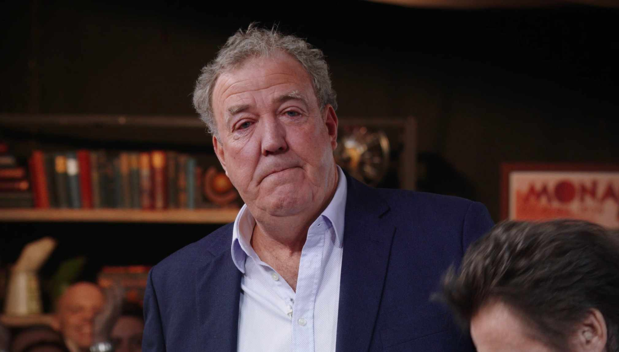 Jeremy Clarkson is visibly emotional during final studio recording of The Grand Tour (Amazon)