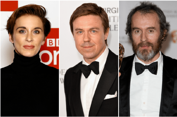 Vicky McClure, Andrew Buchan and Stephen Dillane (Getty)