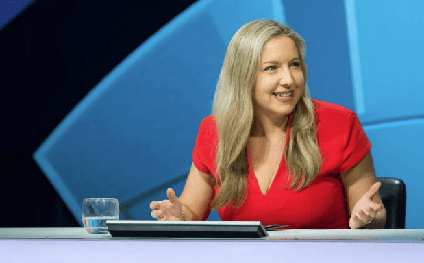 Victoria Coren Mitchell in Only Connect