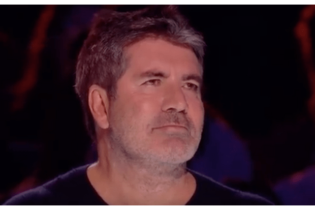 Britain's Got Talent Simon cries (ITV screenshot)