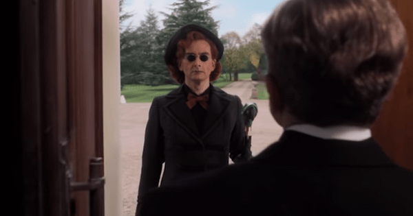 David Tennant dresses up as a woman and sings a lullaby in new Good Omens trailer