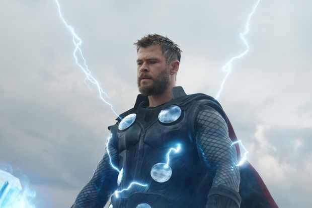 Marvel Studios' AVENGERS: ENDGAME..Thor (Chris Hemsworth)..Photo: Film Frame..©Marvel Studios 2019