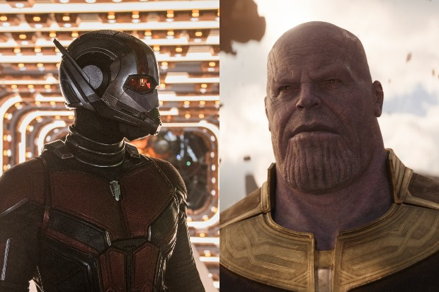 Ant-Man (Paul Rudd) and Thanos (Josh Brolin) (Marvel)