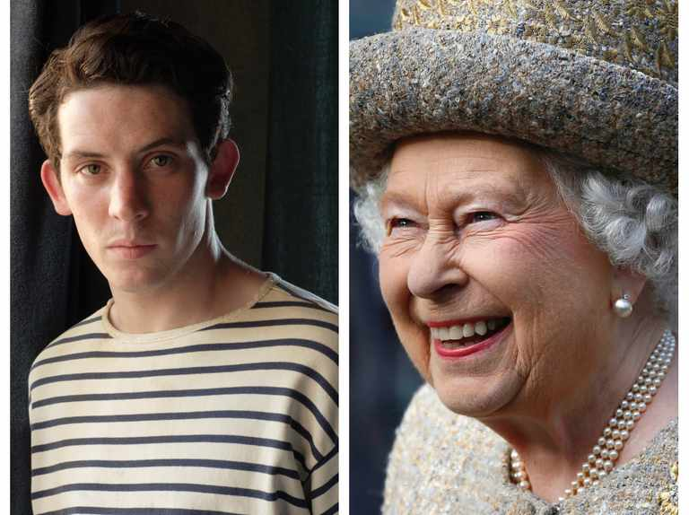 """The Crown star Josh O'Connor says the Queen """"loves him in The Durrells"""""""